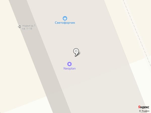 Светофорчик на карте Братска