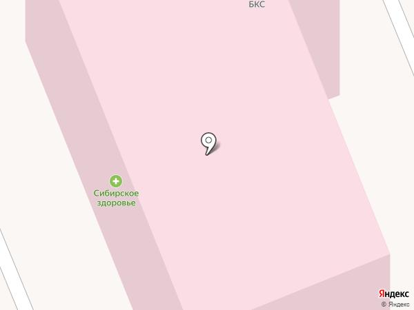 Братский коммунальный сервис на карте Братска