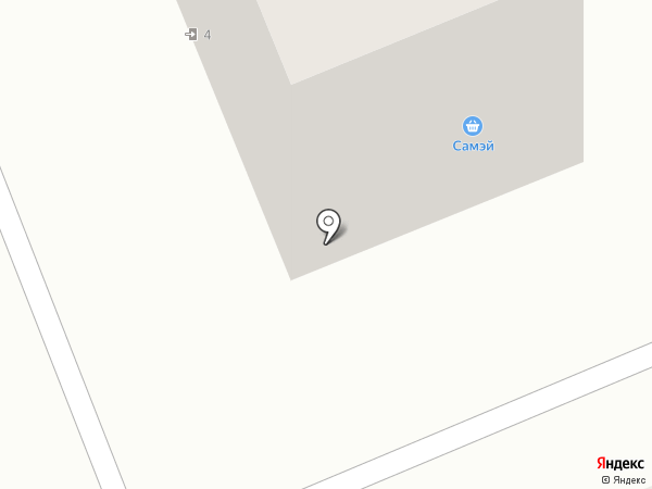 Самэй на карте Братска