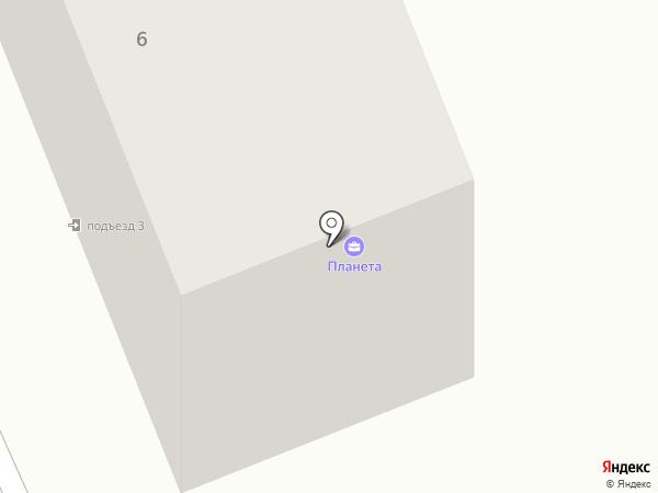 Пивной причал на карте Братска