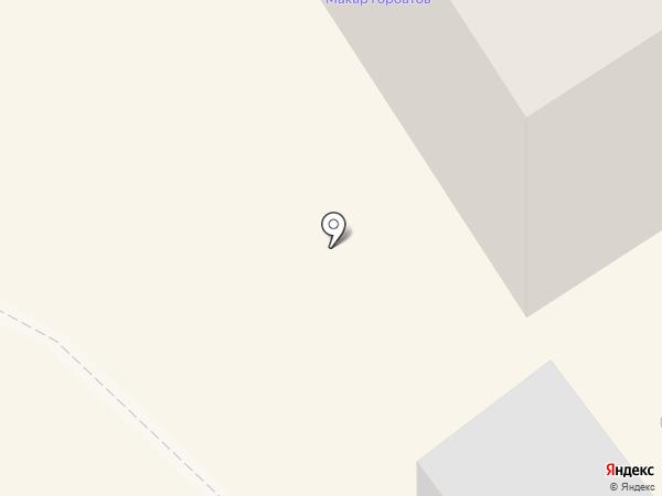Макар Горбатов на карте Братска