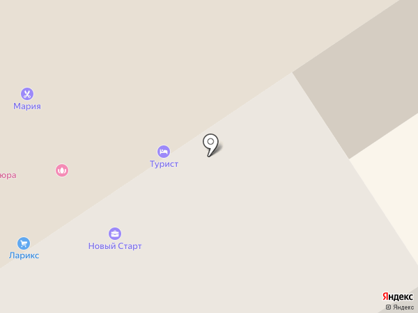Турист на карте Братска