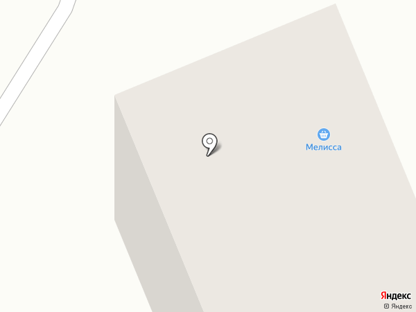 Мелисса на карте Братска