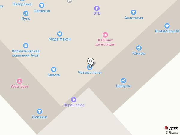 bratskShop38 на карте Братска