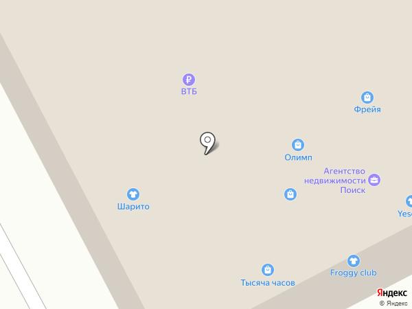 Олимп на карте Братска