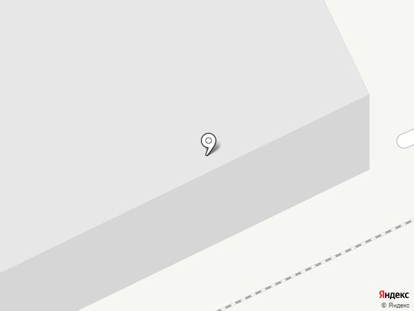 Илимпром на карте Братска