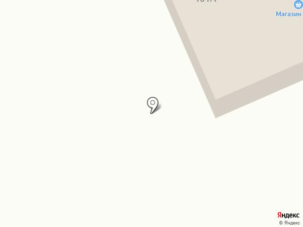 Универсальный магазин №101 на карте Братска