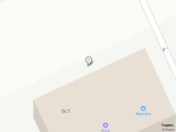 Фортуна на карте Братска