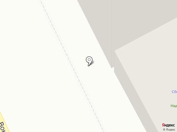 Надежда-фарм на карте Братска