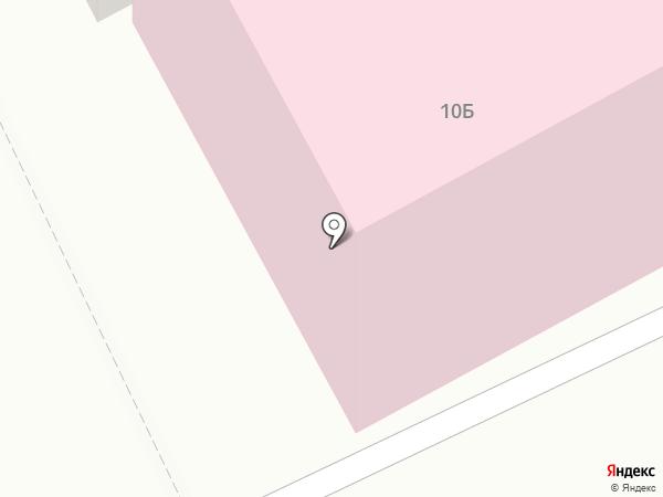 Детская поликлиника на карте Братска