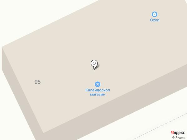 Калейдоскоп на карте Братска