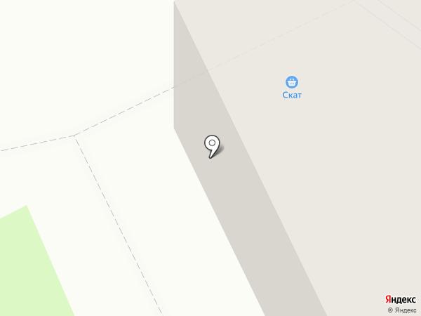 Скат на карте Братска