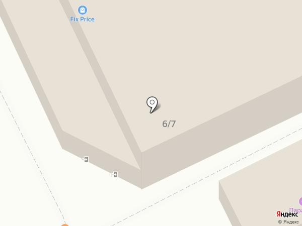 Сосновый-2 на карте Братска