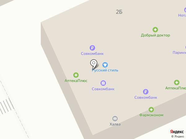 Сеть техники на карте Братска