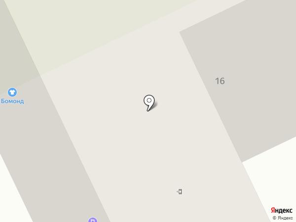 Бертрам на карте Братска