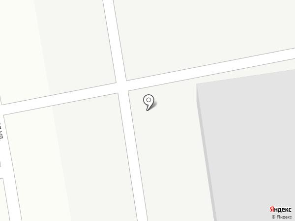 Рассвет на карте Братска