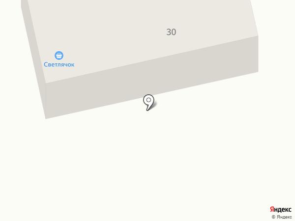 Светлячок на карте Братска