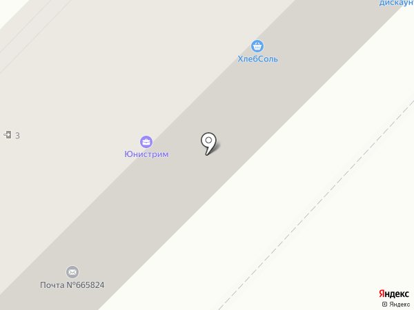 Почтовое отделение №24 на карте Ангарска