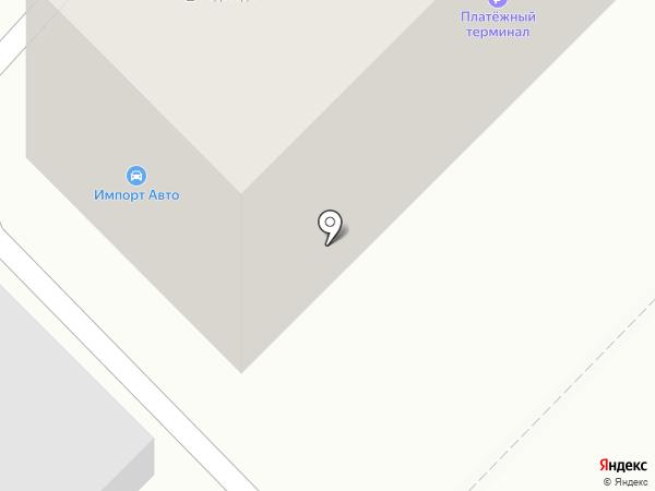 ИмпортАвто на карте Ангарска