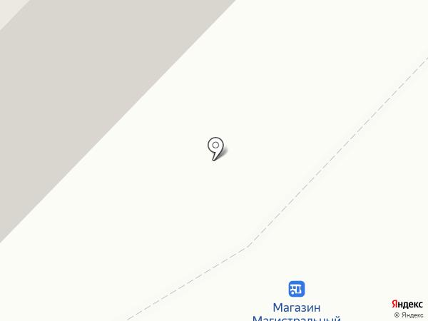 Универсал на карте Ангарска