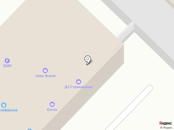 Антиколлектор на карте Ангарска
