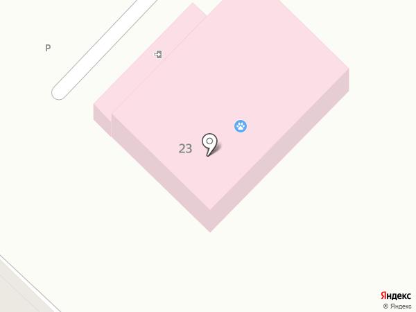 Ветеринарная клиника доктора Калинина на карте Ангарска