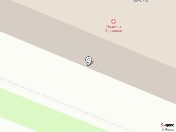 Планета Здоровья на карте Ангарска