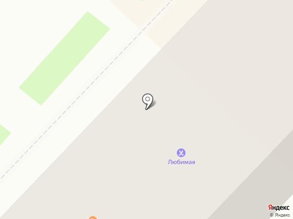 Баррель на карте Ангарска
