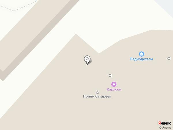 Микрон на карте Ангарска