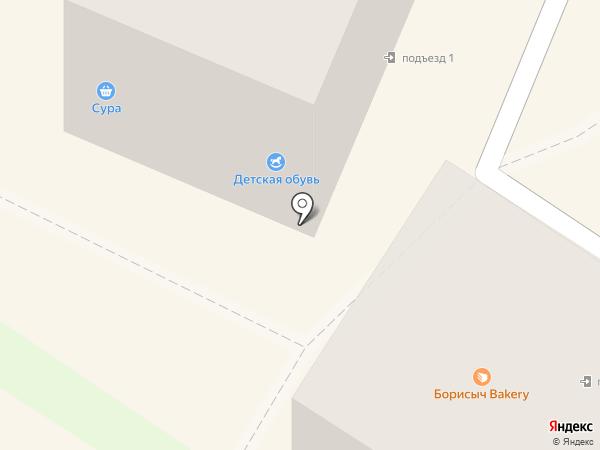 Квартал на карте Ангарска