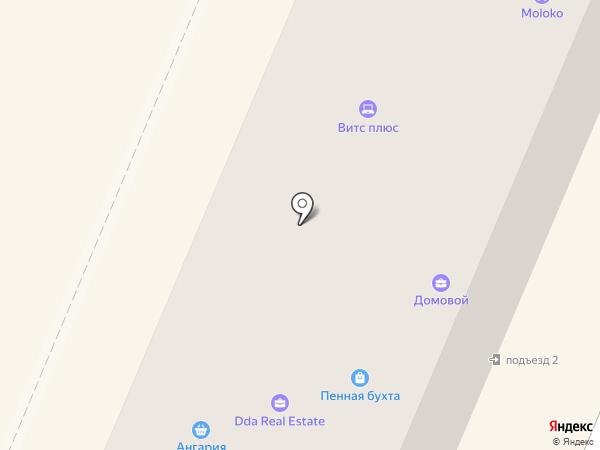 Венеция на карте Ангарска