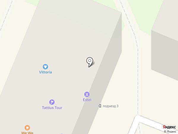 Альтамира на карте Ангарска