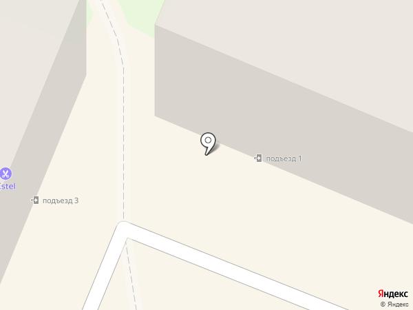 Угол дома на карте Ангарска