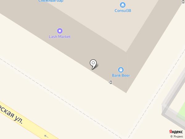 Берлога на карте Ангарска