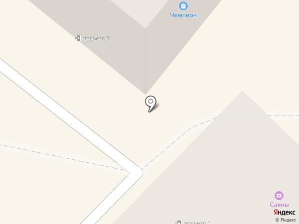 Чемпион на карте Ангарска