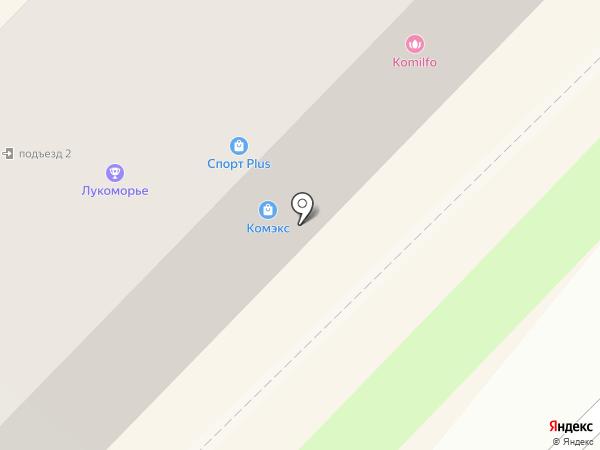 Комильфо на карте Ангарска