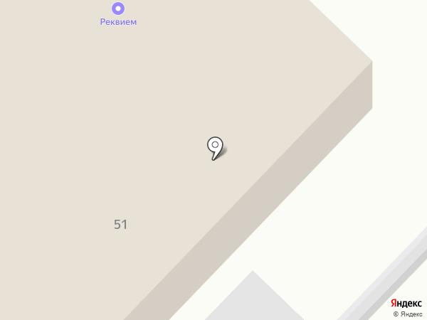 Реквием на карте Ангарска