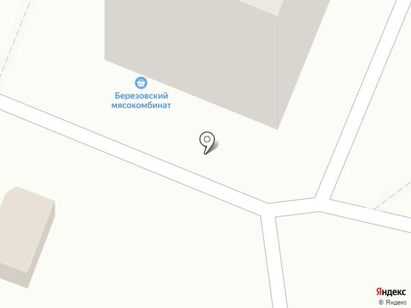 Березовский мясокомбинат на карте Ангарска