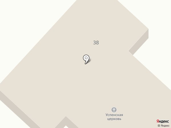 Храм Успения Божией Матери на карте Ангарска