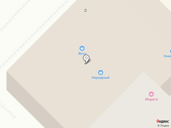 Клевый на карте Ангарска