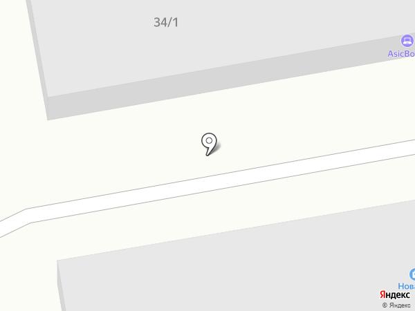ТехСтройКрепеж на карте Ангарска