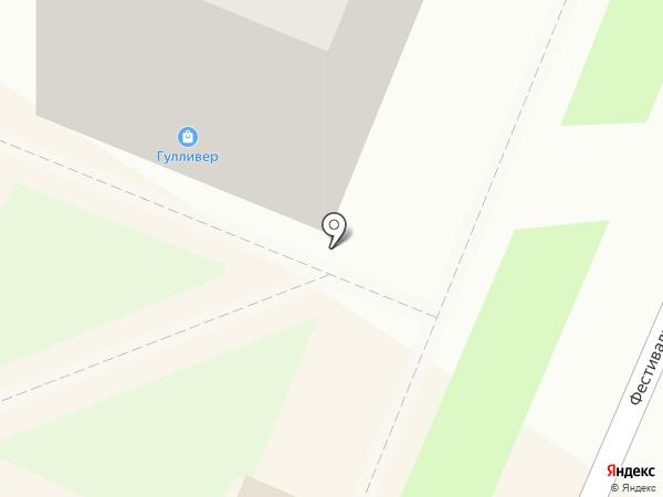 Мари бель на карте Ангарска