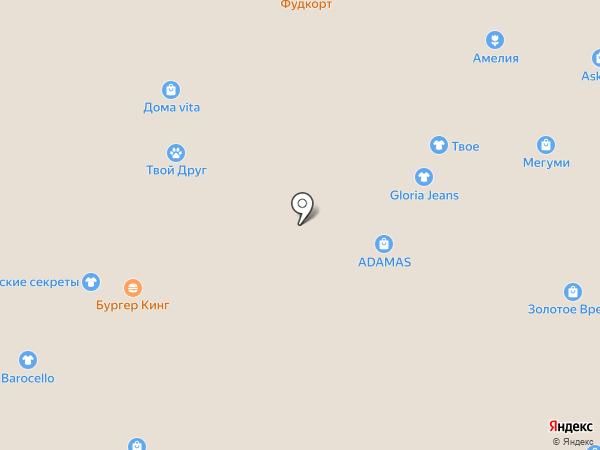 Pandora на карте Ангарска