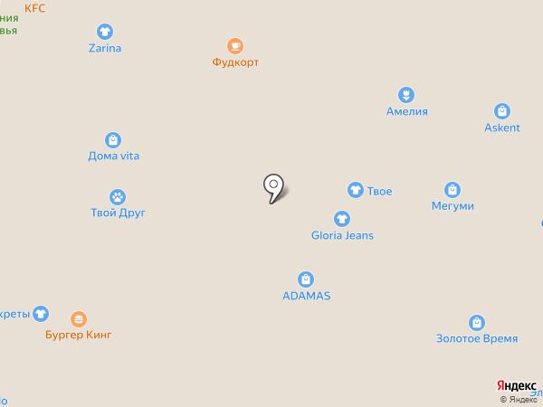 Салон связи на карте Ангарска