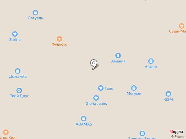 Point на карте Ангарска