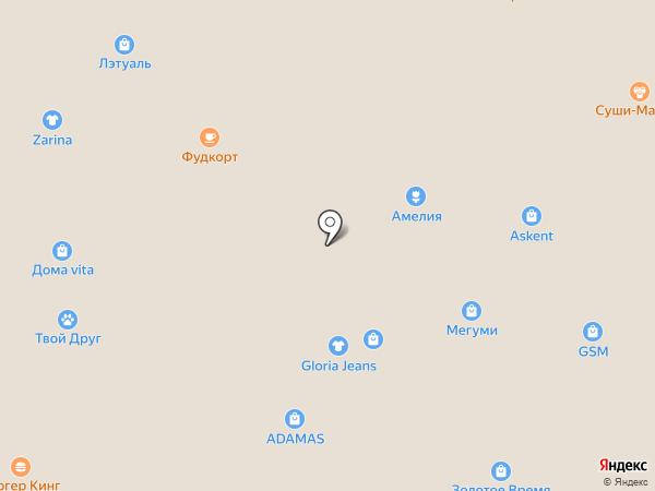 100 друзей на карте Ангарска