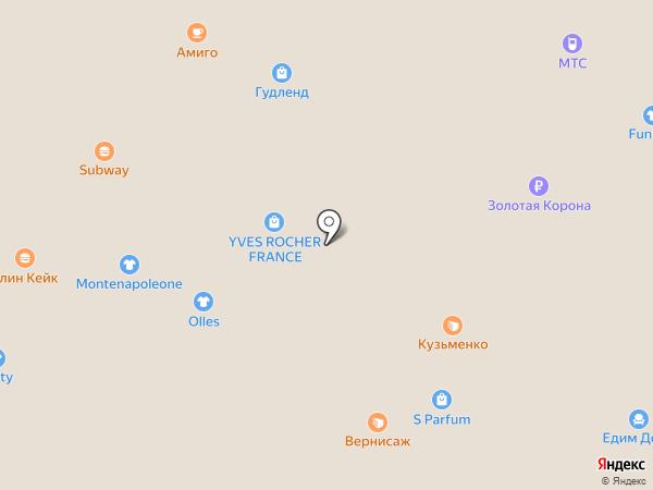 Аскент на карте Ангарска