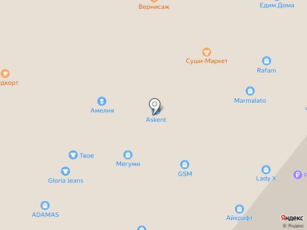 Милавица-Новосибирск на карте Ангарска