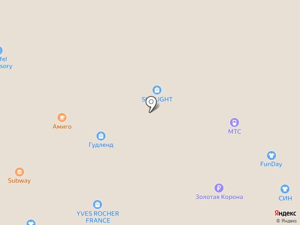 Банкомат, Росбанк, ПАО на карте Ангарска
