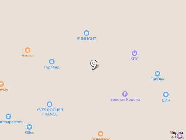 Nomination на карте Ангарска